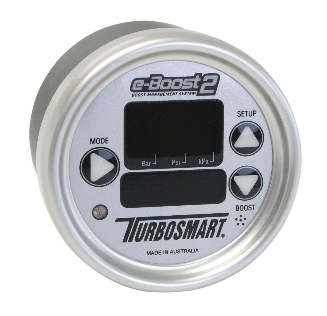 Turbosmart Electronic Boost Controller EBOOST2 66MM Silver - GRUBYGARAGE - Sklep Tuningowy